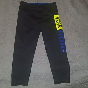 NWOT VS Cropped work out leggings